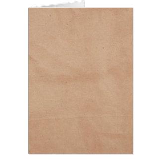 テンプレート-紙袋の背景 カード