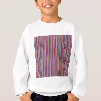 テンプレートDIYのギフトのクリエイティブはカラフルを縞で飾ります並べます スウェットシャツ
