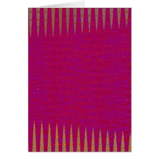 テンプレートDIYの神聖な紫色は文字の写真のイメージを加えます カード