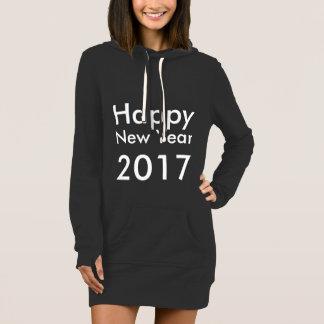 テンプレートDIYの編集可能文字の明けましておめでとう2017年 ドレス