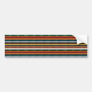 テンプレートDIYは文字のイメージの虹のエンボスのストリップを加えます バンパーステッカー