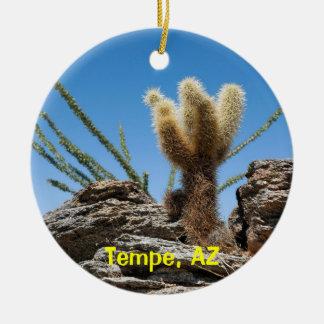 テンペアリゾナの記念品 セラミックオーナメント