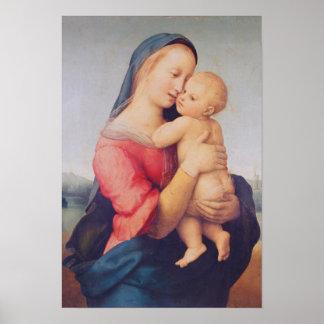 「テンポ」マドンナ1508年 ポスター