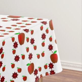 テーブルクロスのりんご テーブルクロス