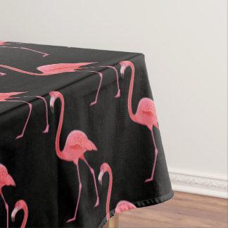 """テーブルクロス""""60x84""""の熱帯ピンクのフラミンゴ テーブルクロス"""