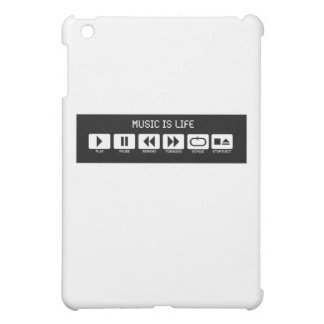 テープデッキ-音楽は生命です iPad MINIカバー