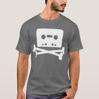 テープ及び骨が交差した図形 Tシャツ