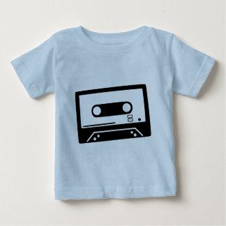 テープ-音楽 ベビーTシャツ