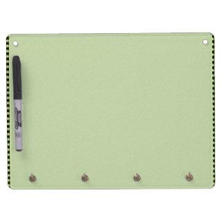 テーマの緑の陰: ダイヤモンドWindows キーホルダーフック付きホワイトボード
