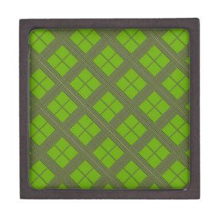 テーマの緑の陰: ダイヤモンドWindows ギフトボックス