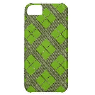 テーマの緑の陰: ダイヤモンドWindows iPhone5Cケース
