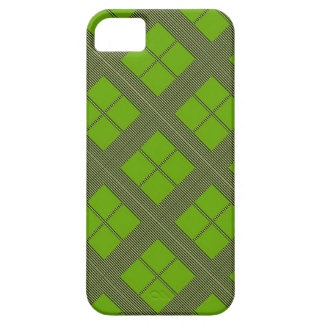 テーマの緑の陰: ダイヤモンドWindows iPhone SE/5/5s ケース