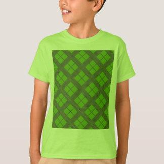テーマの緑の陰: ダイヤモンドWindows Tシャツ
