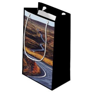 テーマカーブ複数のカーブの渡ることを用いるHigway スモールペーパーバッグ
