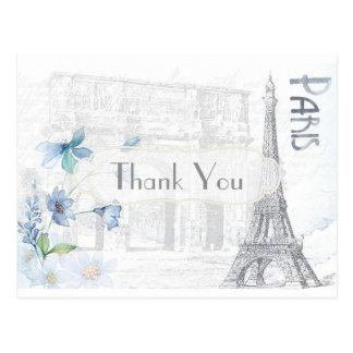 テーマパリは感謝していしています ポストカード