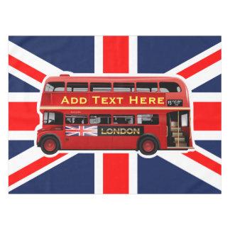 テーマロンドン赤いバス テーブルクロス