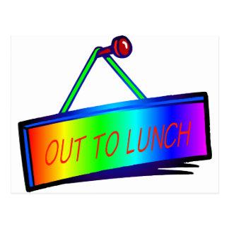 テーマ印の昼食を共にするため ポストカード