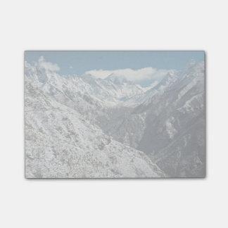テーマ山素晴らしいエベレストの凍っていられていて ポストイット