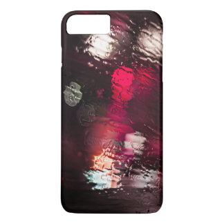 テーマ水Glの表面で流れる水 iPhone 8 Plus/7 Plusケース