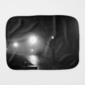 テーマ雨公園のウィットの白黒イメージ バープクロス