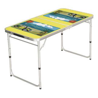 テールゲートのサイズのPongのテーブルの小型休暇 ビアポンテーブル