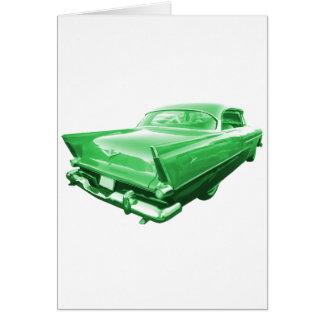 テールフィンの緑 グリーティングカード