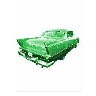 テールフィンの緑 ポストカード
