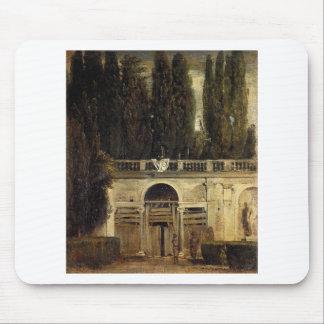 ディエゴベラスケス著ローマの別荘Medici マウスパッド