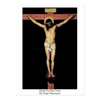 ディエゴベラスケス著十字のキリスト ポストカード