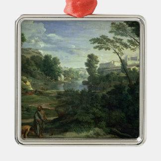 ディオゲネス1648年との景色 メタルオーナメント