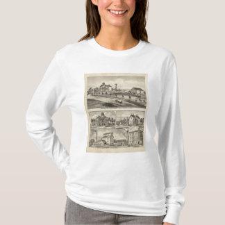 ディキンソン郡の住宅、カンザス Tシャツ