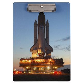 ディスカバリーの進水NASA クリップボード