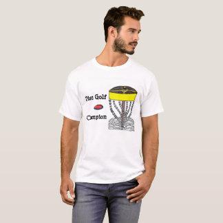 ディスクゴルフチャンピオンメンズTシャツ Tシャツ