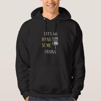 ディスクゴルフ引用文のDiscingのユーモアのワイシャツ パーカ