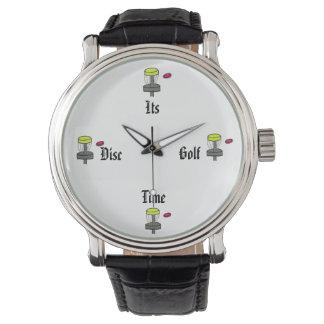 ディスクゴルフ時間腕時計 腕時計
