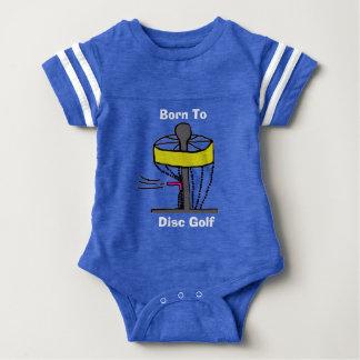 ディスクゴルフ赤ん坊のonsieへの生まれるの ベビーボディスーツ