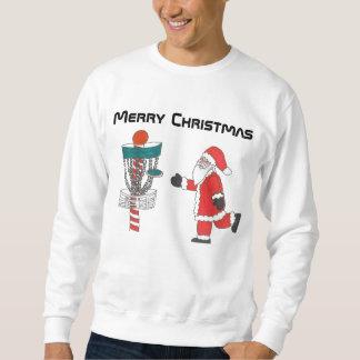 ディスクゴルフ醜いクリスマスのスエットシャツ スウェットシャツ