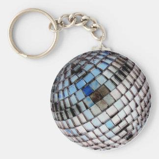 ディスコの金属の鏡の球 キーホルダー