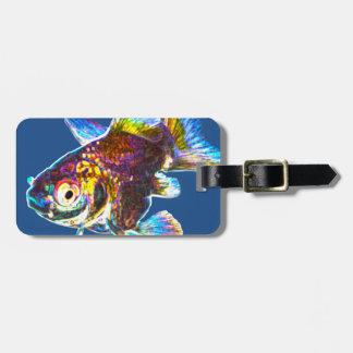 ディスコの金魚 ラゲッジタグ