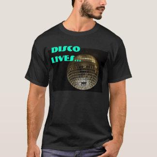 ディスコは…住んでいます Tシャツ