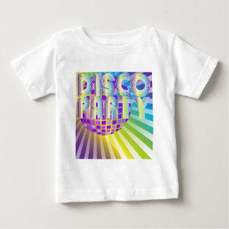 ディスコパーティー ベビーTシャツ