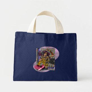 ディスコ-小さいトート ミニトートバッグ