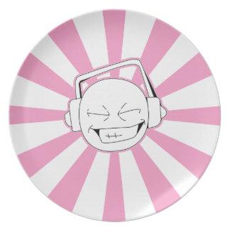 ディスパースLの(ピンクの)プレート プレート