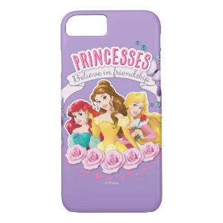 ディズニーのプリンセス| Ariel、美女およびオーロラ iPhone 8/7ケース