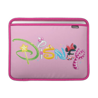 ディズニーのロゴ|の女の子のキャラクター MacBook スリーブ