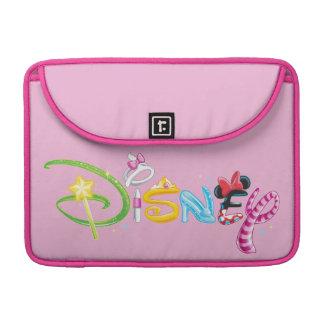 ディズニーのロゴ|の女の子のキャラクター MacBook PROスリーブ