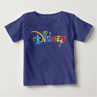 ディズニーのロゴ|の男の子のキャラクター ベビーTシャツ