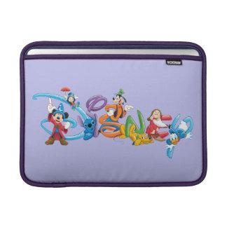 ディズニーのロゴ| Mickeyおよび友人 MacBook スリーブ