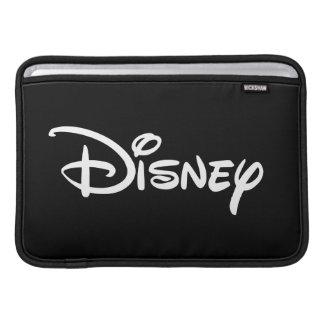 ディズニーの白のロゴ MacBook スリーブ