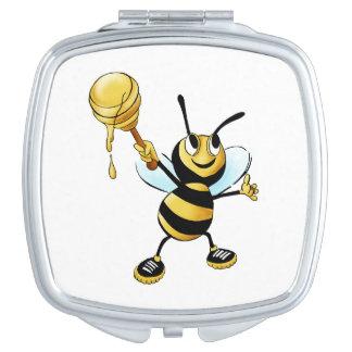 ディッパーを遅らせている微笑の漫画の蜂蜜の蜂